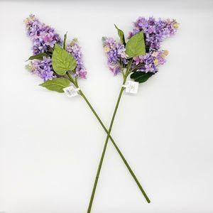 "(2) Threshold 24"" Artificial Lilac Stem Flower"